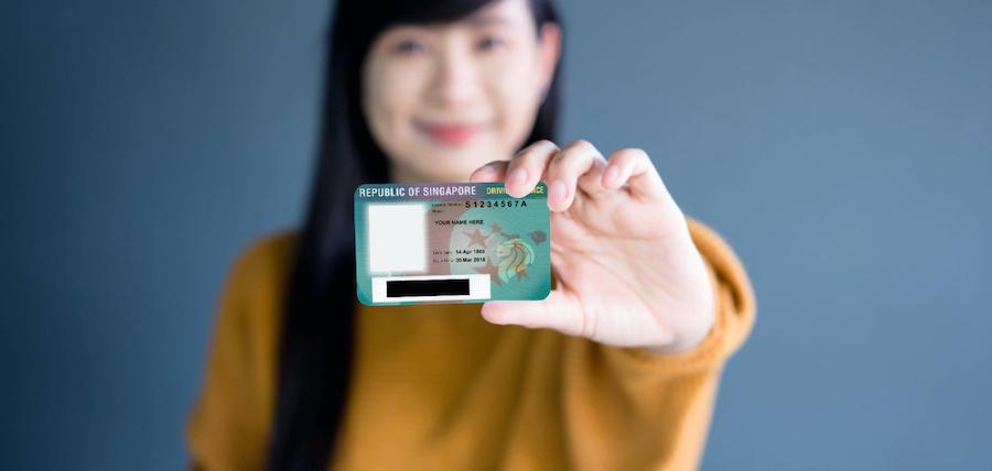 singapore car driving license